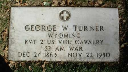 TURNER, GEORGE W. - Yavapai County, Arizona | GEORGE W. TURNER - Arizona Gravestone Photos