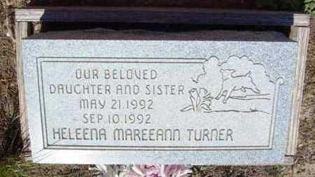TURNER, HELEENA MAREEANN - Yavapai County, Arizona   HELEENA MAREEANN TURNER - Arizona Gravestone Photos