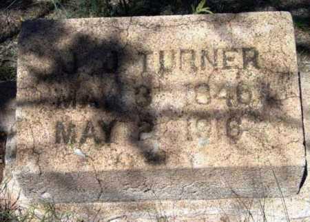 TURNER, JOHN J. - Yavapai County, Arizona | JOHN J. TURNER - Arizona Gravestone Photos