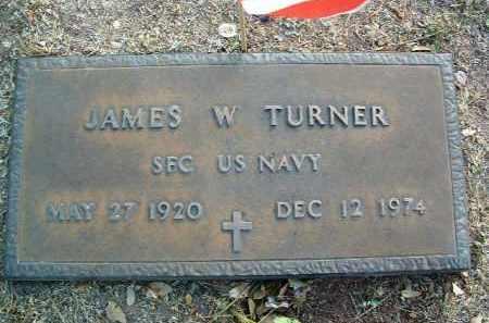 TURNER, JAMES WESLEY - Yavapai County, Arizona | JAMES WESLEY TURNER - Arizona Gravestone Photos