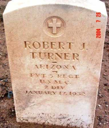 TURNER, ROBERT JOHN - Yavapai County, Arizona | ROBERT JOHN TURNER - Arizona Gravestone Photos