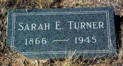 TURNER, SARAH ELIZABETH - Yavapai County, Arizona   SARAH ELIZABETH TURNER - Arizona Gravestone Photos