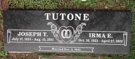 BALLETTI TUTONE, IRMA E. - Yavapai County, Arizona   IRMA E. BALLETTI TUTONE - Arizona Gravestone Photos