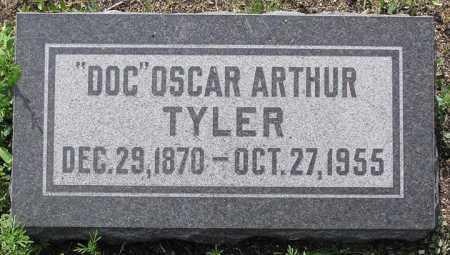 TYLER, OSCAR ARTHUR (DOC) - Yavapai County, Arizona | OSCAR ARTHUR (DOC) TYLER - Arizona Gravestone Photos