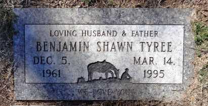 TYREE, BENJAMIN SHAWN - Yavapai County, Arizona | BENJAMIN SHAWN TYREE - Arizona Gravestone Photos