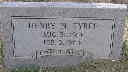 TYREE, HENRY NOEL - Yavapai County, Arizona | HENRY NOEL TYREE - Arizona Gravestone Photos