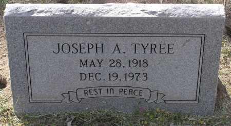 TYREE, JOSEPH ANDREW - Yavapai County, Arizona | JOSEPH ANDREW TYREE - Arizona Gravestone Photos
