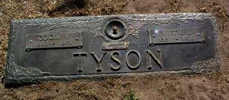 TYSON, ODOM VINCENT - Yavapai County, Arizona | ODOM VINCENT TYSON - Arizona Gravestone Photos