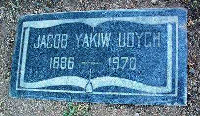UDYCH, JOCOB YAKIW - Yavapai County, Arizona | JOCOB YAKIW UDYCH - Arizona Gravestone Photos