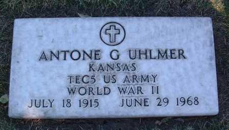UHLMER, ANTONE G. - Yavapai County, Arizona | ANTONE G. UHLMER - Arizona Gravestone Photos