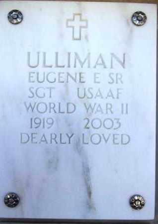ULLIMAN, EUGENE E., SR. - Yavapai County, Arizona | EUGENE E., SR. ULLIMAN - Arizona Gravestone Photos