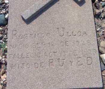 ULLOA, ROSANDO - Yavapai County, Arizona | ROSANDO ULLOA - Arizona Gravestone Photos