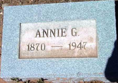 MINHINNICK, ANNA G. (ANNIE) - Yavapai County, Arizona | ANNA G. (ANNIE) MINHINNICK - Arizona Gravestone Photos