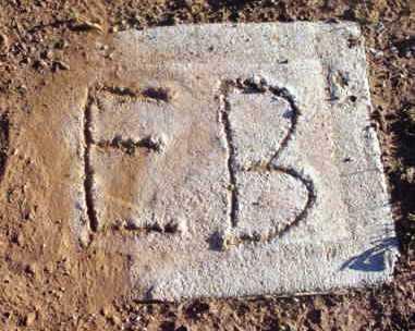 UNKNOWN, E. B. - Yavapai County, Arizona | E. B. UNKNOWN - Arizona Gravestone Photos