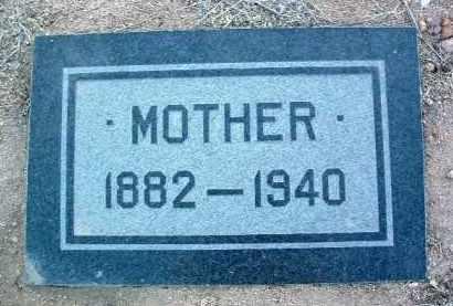 UNKNOWN, MOTHER - Yavapai County, Arizona | MOTHER UNKNOWN - Arizona Gravestone Photos