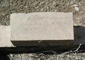 HERNANDEZ, ANTONIO S. - Yavapai County, Arizona | ANTONIO S. HERNANDEZ - Arizona Gravestone Photos