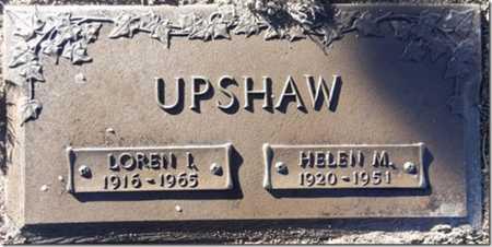 HOOVER UPSHAW, HELEN M. - Yavapai County, Arizona | HELEN M. HOOVER UPSHAW - Arizona Gravestone Photos