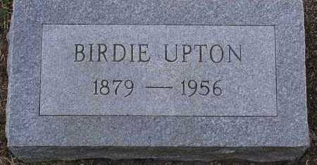 UPTON, BIRDIE - Yavapai County, Arizona   BIRDIE UPTON - Arizona Gravestone Photos