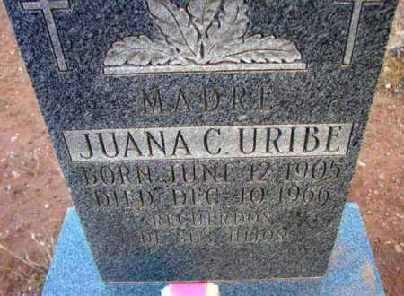 URIBE, JUANA C. - Yavapai County, Arizona | JUANA C. URIBE - Arizona Gravestone Photos