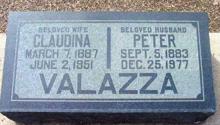 VALAZZA, PETER (PIETRO) - Yavapai County, Arizona | PETER (PIETRO) VALAZZA - Arizona Gravestone Photos