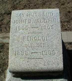 VALDRINI, RENOLDI - Yavapai County, Arizona | RENOLDI VALDRINI - Arizona Gravestone Photos