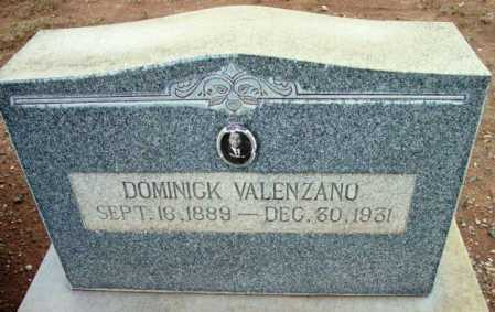 VALENZANO, DOMINICK - Yavapai County, Arizona   DOMINICK VALENZANO - Arizona Gravestone Photos