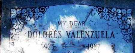 TORREZ VALENZUELA, DOLORES - Yavapai County, Arizona   DOLORES TORREZ VALENZUELA - Arizona Gravestone Photos