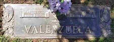 VALENZUELA, MANUEL GASTELUM - Yavapai County, Arizona | MANUEL GASTELUM VALENZUELA - Arizona Gravestone Photos