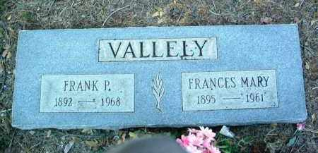 VALLELY, FRANCES MARY - Yavapai County, Arizona | FRANCES MARY VALLELY - Arizona Gravestone Photos
