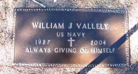 VALLELY, WILLIAM J. (BILL) - Yavapai County, Arizona | WILLIAM J. (BILL) VALLELY - Arizona Gravestone Photos