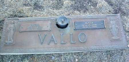 VALLO, MARY - Yavapai County, Arizona | MARY VALLO - Arizona Gravestone Photos