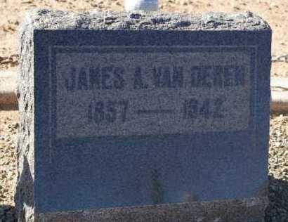VAN DEREN, JAMES ALVIN - Yavapai County, Arizona | JAMES ALVIN VAN DEREN - Arizona Gravestone Photos