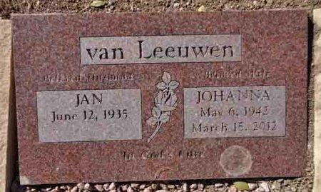 HESSELIVS VAN LEEUWEN, JOHANNA - Yavapai County, Arizona | JOHANNA HESSELIVS VAN LEEUWEN - Arizona Gravestone Photos
