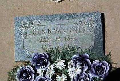 VANRITER, JOHN B. - Yavapai County, Arizona | JOHN B. VANRITER - Arizona Gravestone Photos