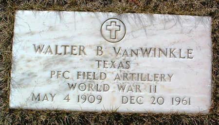 VANWINKLE, WALTER B. - Yavapai County, Arizona | WALTER B. VANWINKLE - Arizona Gravestone Photos