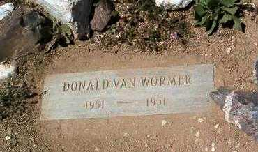 VAN WORMER, DONALD - Yavapai County, Arizona | DONALD VAN WORMER - Arizona Gravestone Photos