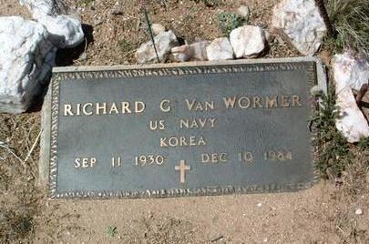 VAN WORMER, RICHARD - Yavapai County, Arizona   RICHARD VAN WORMER - Arizona Gravestone Photos
