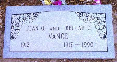 VANCE, BEULAH C. - Yavapai County, Arizona | BEULAH C. VANCE - Arizona Gravestone Photos