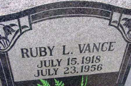 MARTIN VANCE, RUBY L. - Yavapai County, Arizona | RUBY L. MARTIN VANCE - Arizona Gravestone Photos