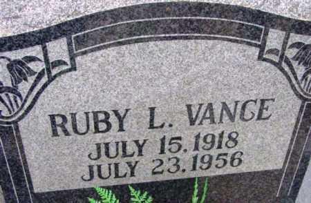 VANCE, RUBY L. - Yavapai County, Arizona | RUBY L. VANCE - Arizona Gravestone Photos