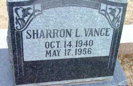 VANCE, SHARRON L. - Yavapai County, Arizona | SHARRON L. VANCE - Arizona Gravestone Photos
