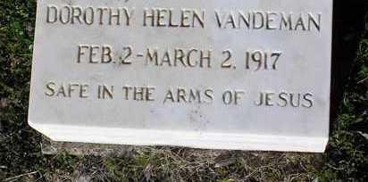 VANDEMAN, DOROTHY HELEN - Yavapai County, Arizona | DOROTHY HELEN VANDEMAN - Arizona Gravestone Photos