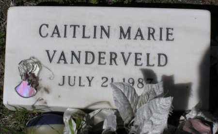VANDERVELD, CAITLIN MARIE - Yavapai County, Arizona | CAITLIN MARIE VANDERVELD - Arizona Gravestone Photos