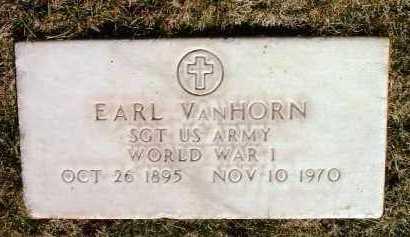 VANHORN, EARL - Yavapai County, Arizona   EARL VANHORN - Arizona Gravestone Photos