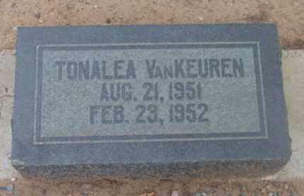 VANKEUREN, TONALEA - Yavapai County, Arizona | TONALEA VANKEUREN - Arizona Gravestone Photos