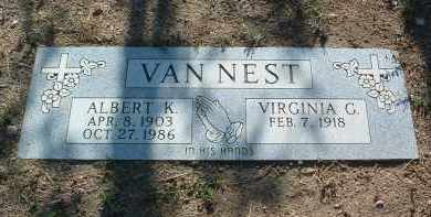 VANNEST, ALBERT K. - Yavapai County, Arizona | ALBERT K. VANNEST - Arizona Gravestone Photos