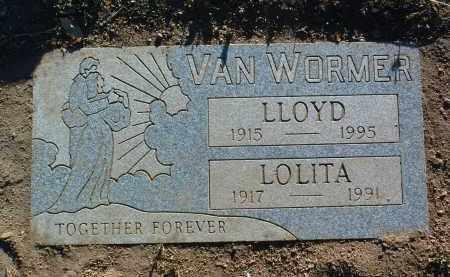 VANWORMER, LLOYD N. - Yavapai County, Arizona   LLOYD N. VANWORMER - Arizona Gravestone Photos