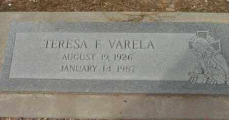 VARELA, TERESA F. - Yavapai County, Arizona   TERESA F. VARELA - Arizona Gravestone Photos