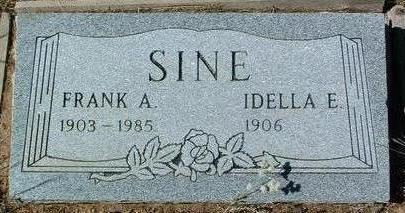VARNEY SINE, IDELLA EDITH - Yavapai County, Arizona | IDELLA EDITH VARNEY SINE - Arizona Gravestone Photos