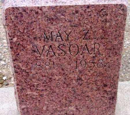 VASOAR, MAY Z. - Yavapai County, Arizona | MAY Z. VASOAR - Arizona Gravestone Photos